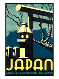 Japan, Japanese Government Railways Prints