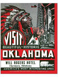 Visit Beautiful Historic Oklahoma Print