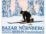 Sports d'hiver Nuremberg Art par Carl Kunst
