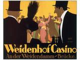 Weidenhof Casino Posters by Ernst Lubbert