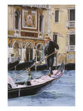 The Gondolier Posters by Roberta Aviram