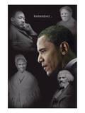 Barack Obama - Remember (quotes) Plakat