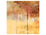 Palmae Square Gold IV Prints by Melinda Bradshaw