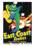 East Coast Frolics Posters by Frank Newbould