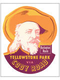 Yellowstone Park Via Cody Road Prints
