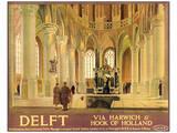 Delft Prints by Anton van Anrooy