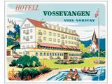 Hotell Vossevangen, Voss-Norway Affiches