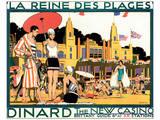 Dinard, La Reine Des Plages Posters af Kenneth Shoesmith