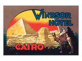 Windsor Hotel, Cairo Posters