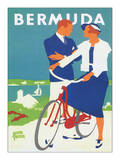 Bermudy Plakaty autor Adolph Treidler
