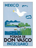 Mexico, Posada de Don Vasco Poster