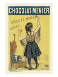 Reklama czekolady Menier Reprodukcje autor Firmin Etienne Bouisset