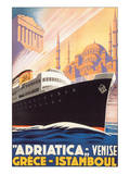Adriatica, Venise Posters