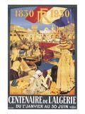 Centenaire de l'Algérie, c.1930 Posters by Leon Cauvy