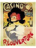 Casino de Paris, Reouverture Posters