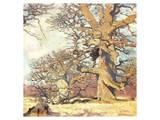 Oaks Poster by Eugen Bracht
