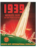 1939 Worlds Fair on San Francisco Bay Prints