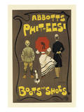Abbotts Phit-Eesi Boots And Shoes Posters by Dudley Hardy