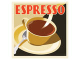 Deco Espresso I Prints by Richard Weiss