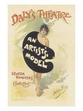 Daly's Theatre, An Artist's Model (Musical Comedy) Prints by Julius Price