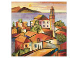 Mediterranean II Prints by Warren Cullar
