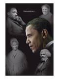Barack Obama - Remember (no quotes) Plakater