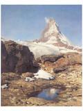 Matterhorn Posters by Eugen Bracht