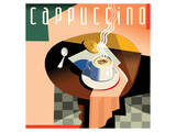 Cubist Cappucino I Art by Eli Adams