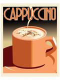 Deco Cappucino II Print by Richard Weiss