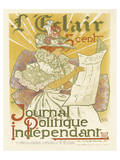L'Eclair, Journal Politique Independent Prints by H. Thomas
