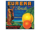 Eureka Florida Citrus Prints