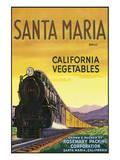 Santa Maria Brand California Vegetables Posters