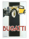Bugatti Prints by René Vincent