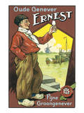 Oude Genever Ernest Posters