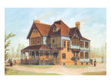 Victorian House, No. 13 Prints