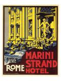 Marini Strand Hotel, Richter & Napoli Poster