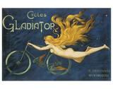 Bicicletas Gladiator Obra de arte