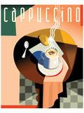 Cubist Cappucino II Posters by Eli Adams