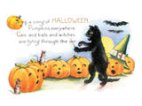 Sing a Song of Halloween Poster