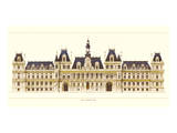 Paris, Hotel de Ville Prints by Libero Patrignani
