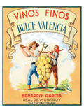 Dulce Valencia Vinos Finos Prints