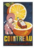 Cointreau, La Liqueur Cristalline Posters by Jean A. Mercier