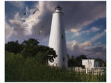 Ocracoke Light I Prints by Steve Hunziker