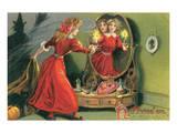 Halloween Mirror Prints