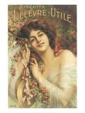 Biscuits Lefevre-Utile Posters