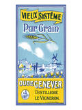 Oude Genever, Vieux Systeme Pur Grain Poster