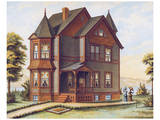 Victorian House, No. 11 Print