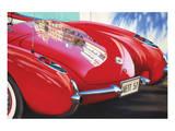 1957 Corvette Poster par Graham Reynolds