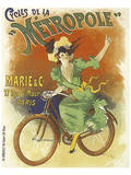 Cycles de La Metropole Print by Lucien Baylac
