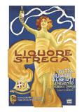 Liquore Strega Poster by Alberto Chappuis